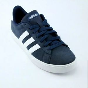 adidas Daily 2.0 Sneaker - Navy Suede White